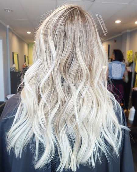 Blonde Highlights Brown Balayage Summer Frisyrer Colors Ash