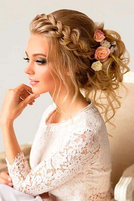 Wedding, Long, Weddings, Warm, Updo, Grad, Bridesmaid