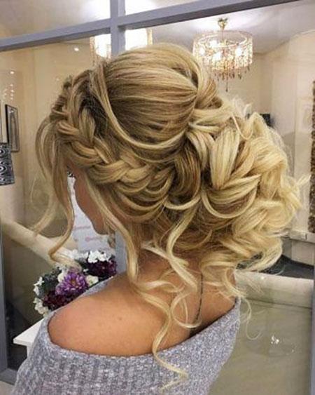 Wedding, Updo, Prom, Messy, Long, Braided