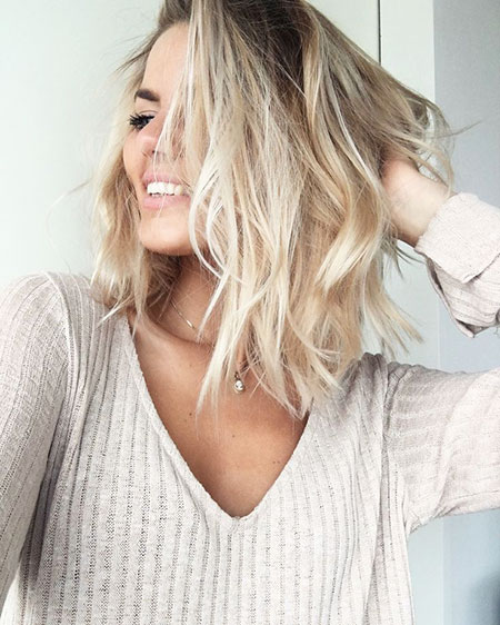 Blonde Hairstyles, Short Hairstyles, Season, Medium, Long, Lob