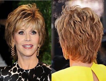 Short Hairstyles, Women, Real, Over, Older, Jane, Fonda