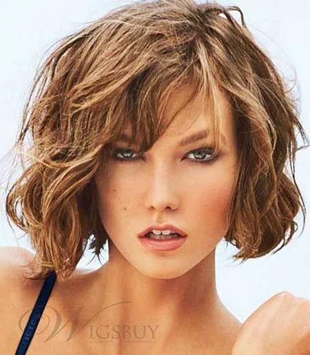 Short Hairstyles, Blonde Bob Hairstyles, Wavy, Blonde Hairstyles