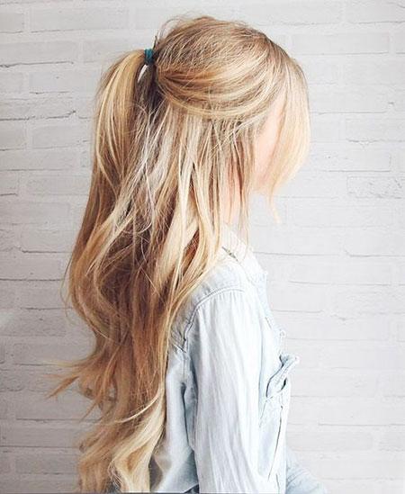 Blonde Up Summer Short Long Kassinka High Half Easy