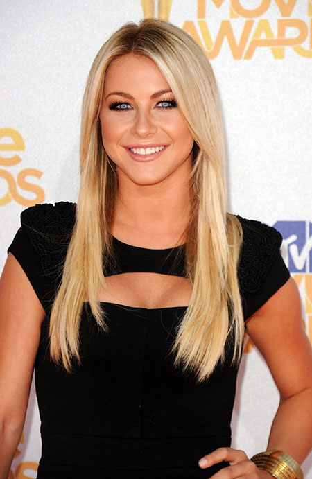 Straight Paltrow Long Julianne Hough Gwyneth