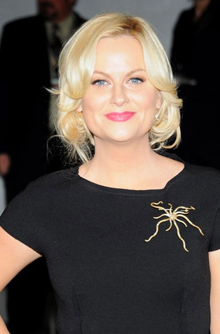 Short Hairstyles, Blonde Hairstyles, Women, Poehler, Platinum