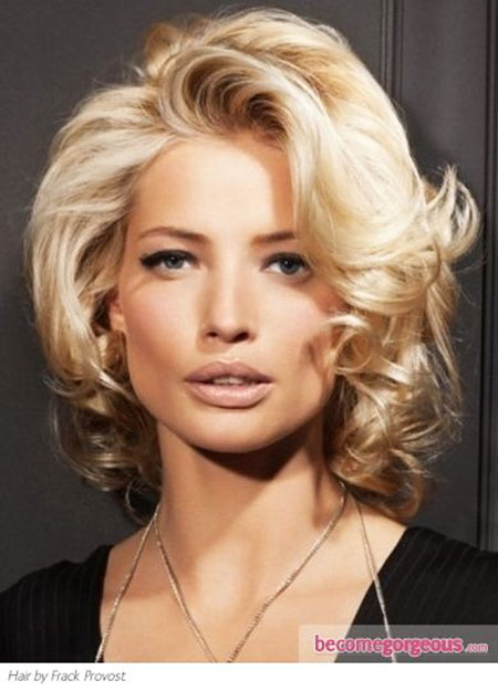 Short Hairstyles, Curly, Theron, Medium, Long, Charlize
