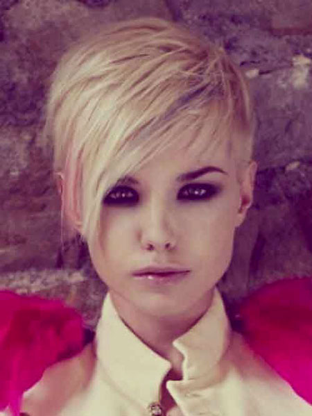 Short Hairstyles, Pixie Cut, Women, Trendy, Suitable, Over, Long, Edgy
