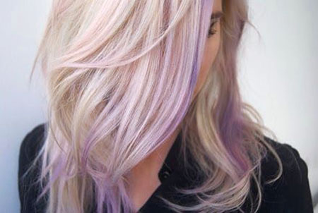 Blonde Hairstyles, Lavender, Short Hairstyles, Round
