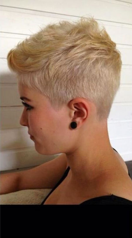 Pixie Cut, Short Hairstyles, Blonde Hairstyles, Undercut, Medium, Haircut