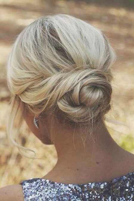 Updo, Short Hairstyles, White, Wedding, Waterfall, Trends, Trend
