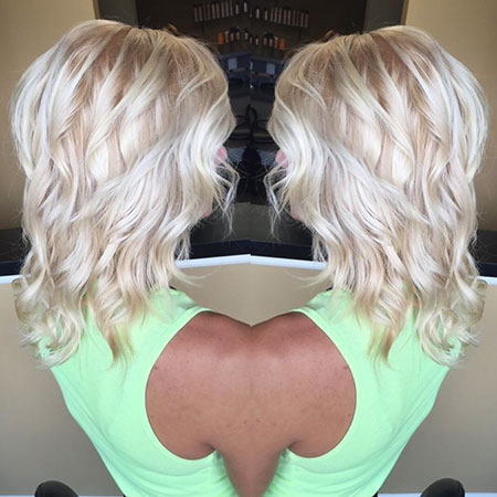 Blonde Hairstyles, Balayage, Waves, Trendy, Quick, Platinum, Ice, Fall