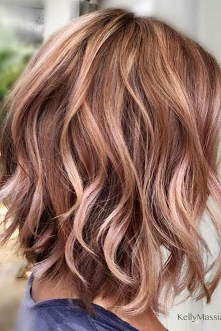 35 Short Rose Gold Blonde Hairstyles 2017 2018 Blonde