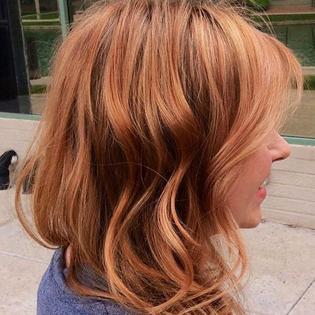 Red, Blonde Hairstyles, Curly, Copper, Wavy, Strawberry