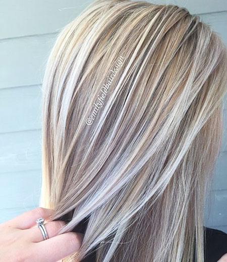 Blonde, Highlights, 2017, Women, Weave, Trendy, Trends, Summer