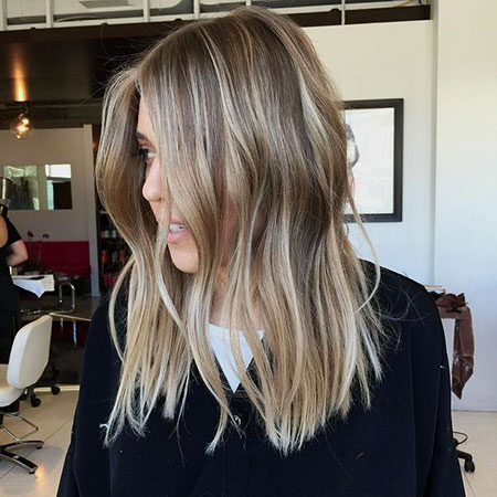 Blonde, Balayage, Short, Medium, Long, Ig, Highlights