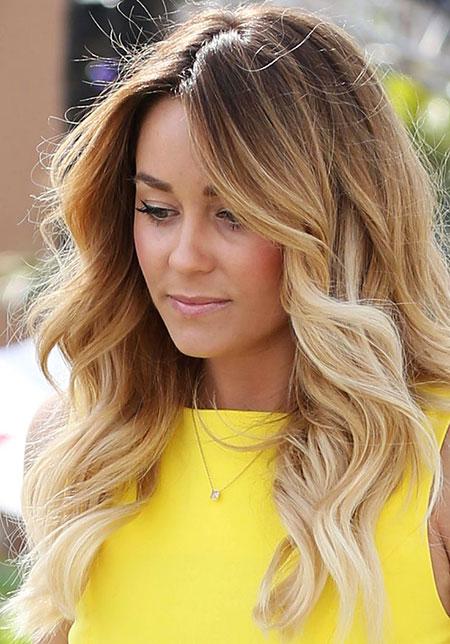 Ombre Blonde Lauren Khloe Kardashian Conrad Brown