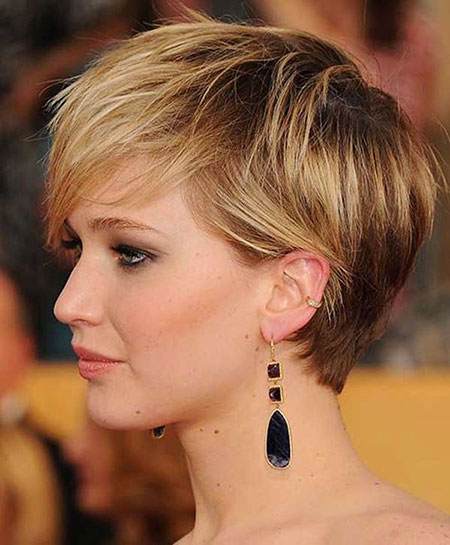 Short Hairstyles, Pixie Cut, Women, Trendy, Straight Hairstyles