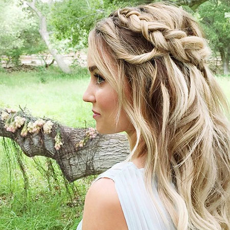 Braids Braid Waterfall Lauren Conrad Up Twist Trenza