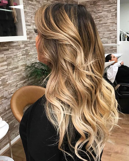 48 Long Blonde Balayage Hair Color Blonde Hairstyles 2020