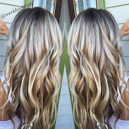 Blonde Highlights Daily Balayage 2017 Women Trends