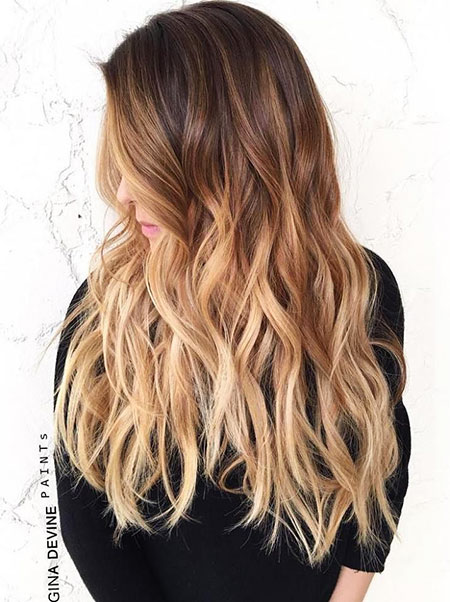 Ombre Blonde Balayage Brown Black Textures Shapes Red