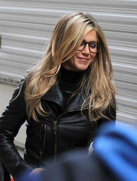 Long Layered Jennifer Aniston Layer Fancy Celebrity