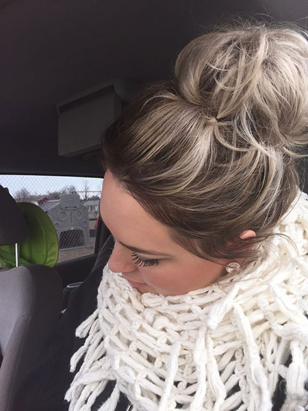 Wedding, Rollsup, Winter, Messy, Japan, Dos, Bun, Blonde