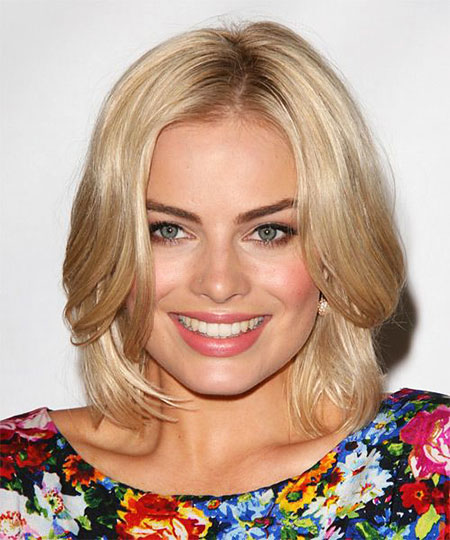 Blonde Bob Hairstyles, Medium, Length, Julianne Hough, Blonde Hairstyles