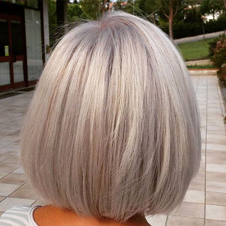 Blonde Bob Hairstyles, Grey, Blonde Hairstyles, Short Hairstyles, Shag, Messy