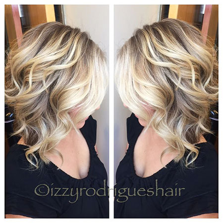 Blonde Hairstyles, Balayage, Highlights