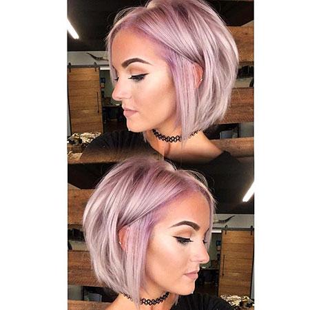 Short Hairstyles, Violet, Pastel, Lavender, Blonde Hairstyles