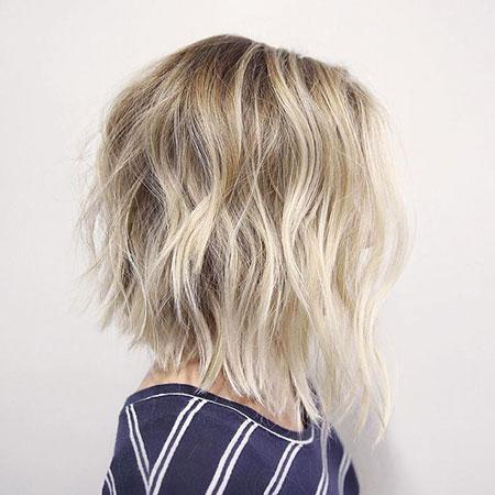 Blonde Hairstyles, Blonde Bob Hairstyles, Balayage, Short Hairstyles, Shaggy