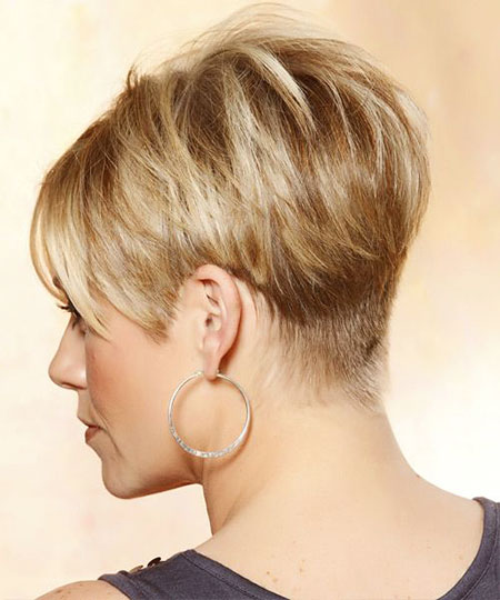 Short Hairstyles, Pixie Cut, Blonde Bob Hairstyles, View