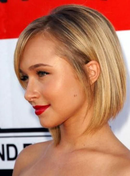 Blonde Bob Hairstyles, Short Hairstyles, Slightly, Round, Face