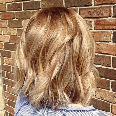 Highlights, Balayage, Warm, Season, Ombre, Blond