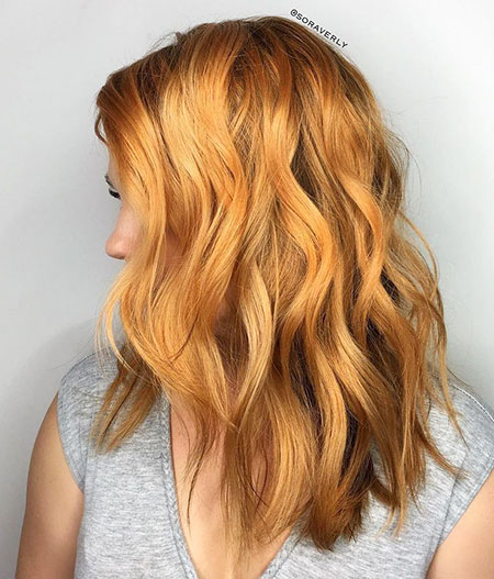 Blonde, Strawberry, Ombre, Golden, Balayage, Warm