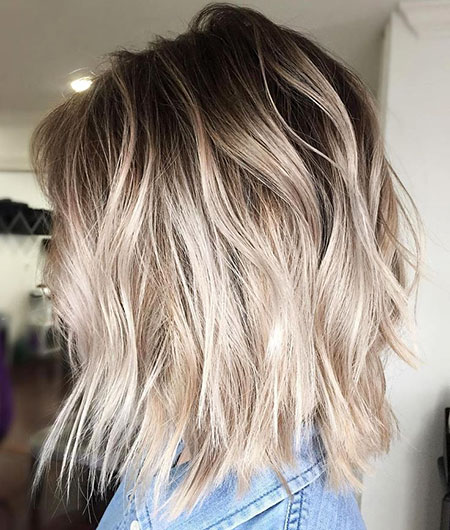 Blonde Hairstyles, Balayage, Length, Blonde Bob Hairstyles, Women, Thin