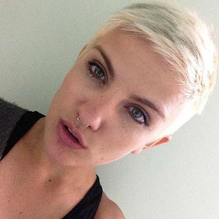 Short Hairstyles, Pixie Cut, Very, Eyes, Blonde Hairstyles