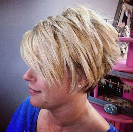 Short Hairstyles, Blonde Bob Hairstyles, Pixie Cut, Layered