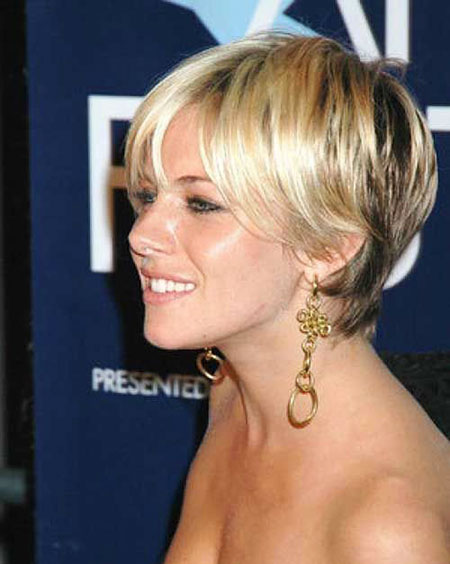 Short Hairstyles, Women, Thin, Sienna, Reverse, Ombre, Miller, Long