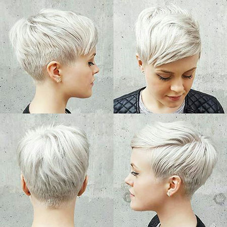 Pixie Cut, Short Hairstyles, Layered