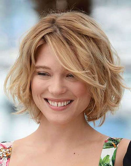 Short Hairstyles, Blonde Bob Hairstyles, Women, Wavy