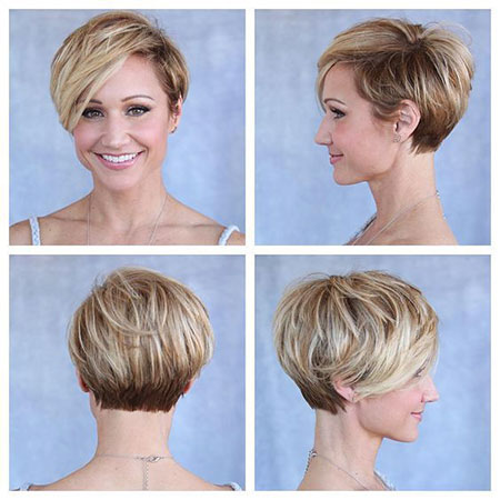 Short Hairstyles, Pixie Cut, Women, Straight Hairstyles