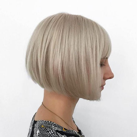 Blonde Bob Hairstyles, Blonde Hairstyles, Fringe, Box, Ash, Angled