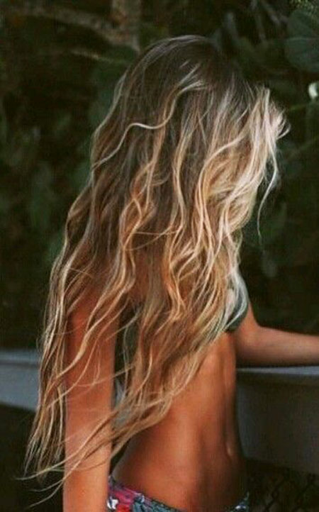 Highlights, Beach, Balayage, Ombre, Fashion, Brown, Bronde, Bohemian