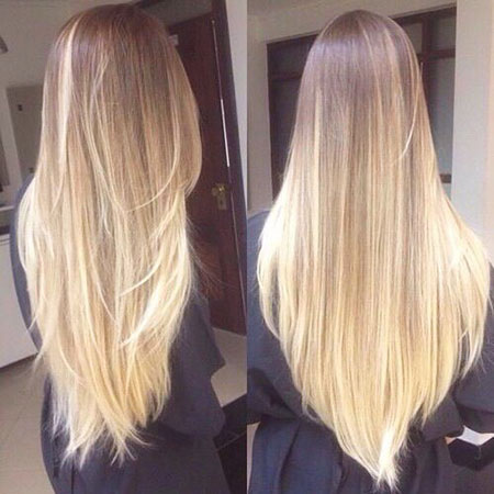 Blonde, Long, Balayage, Ombre, Very, Layers, Goals