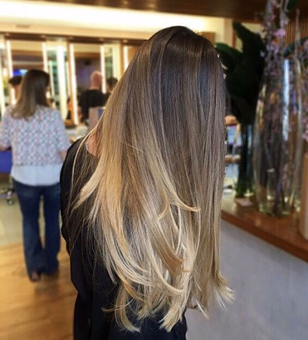 Ombre Ig Brown Blonde Balayage Tips