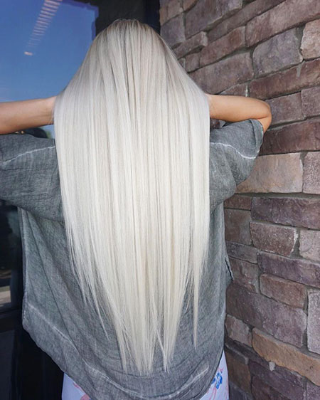 Blonde White Platinum Cute Colour Bobs Balayage