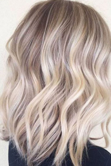 Blonde Hairstyles, Balayage, Ash, Short Hairstyles, Ombre, Modern