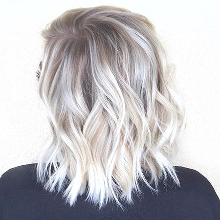 Blonde Hairstyles, Platinum, Highlights, Balayage, Trendy, Salon, Habit